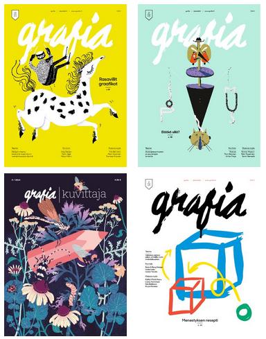 Grafia-lehden vuositilaus (4 numeroa)
