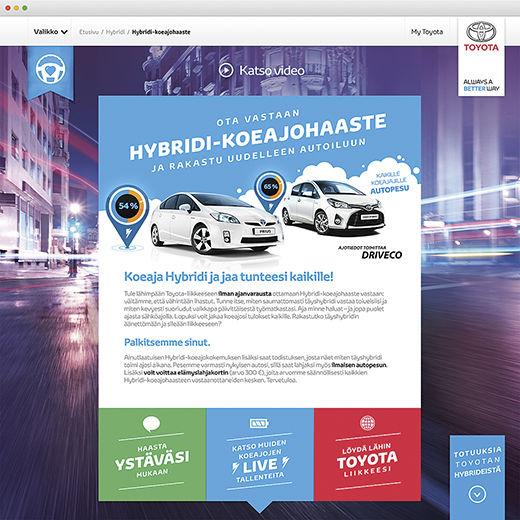 Toyota Hybridikoeajo
