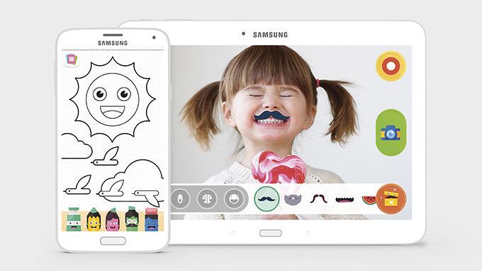 Samsung Kids Mode: 2–6 -vuotiaille lapsille suunnattu mobiilialusta