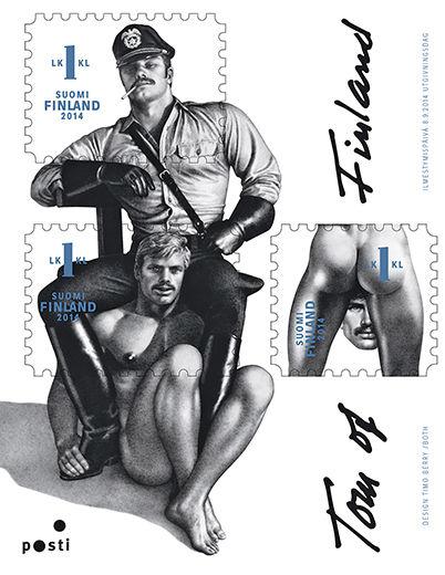 Tom of Finland -postimerkki