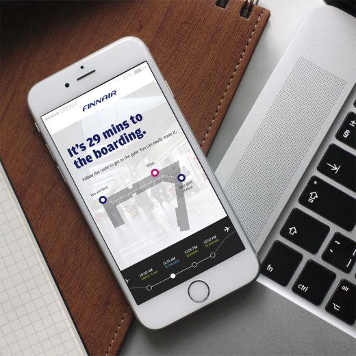 Finnairin digitaalinen palveluvisio