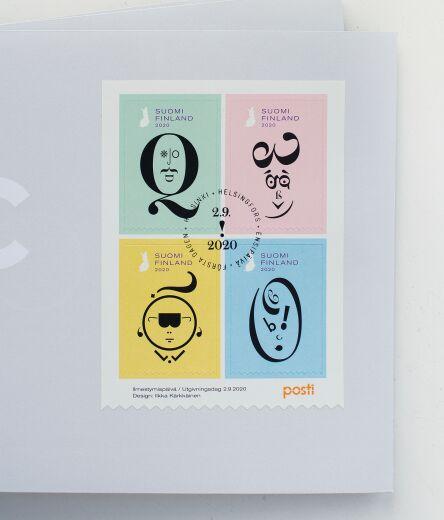 Lukutaito postimerkit