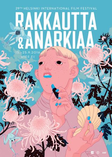 29. Rakkautta & Anarkiaa -festivaalin juliste