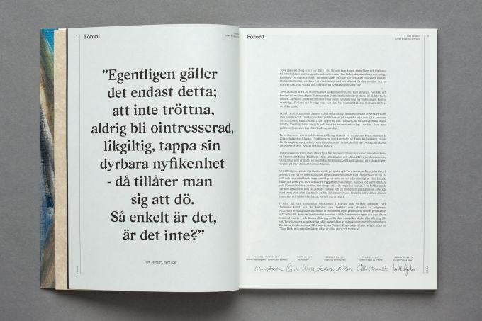 Tove Jansson näyttelykatalogi