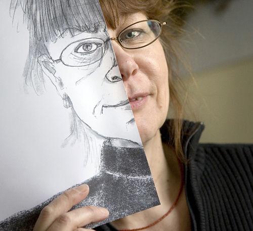Ulla Etto, graafinen suunnittelija, kuvittaja