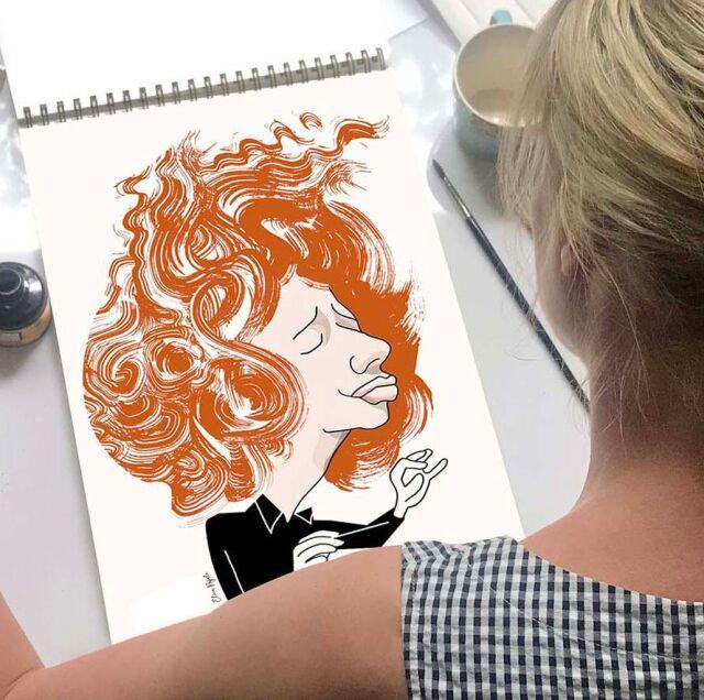 Elina Rajala, Graafinen suunnittelija, kuvittaja
