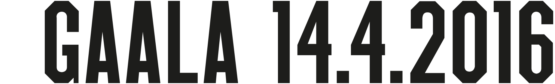 Vuoden huiput Gaala 14.4.2016